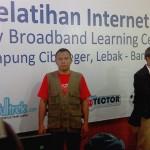 Pelatihan Internet Baduy