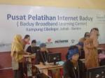 Pelatihan Internet Suku baduy