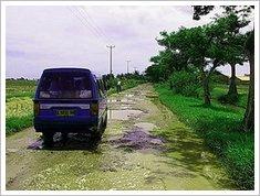jalan rusak parah